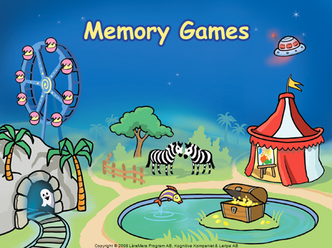 Memory Games Junior