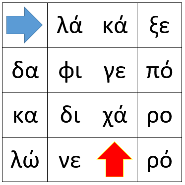 Greek Syllables 1 mat